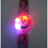 Jam Tangan Anak Anak Proyektor, Laser, Music Sofia The First AJP 36