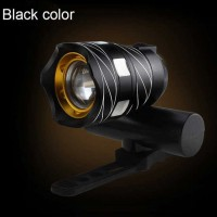 TaffLED Lampu Sepeda LED Chargerable Zoomable Bicycle T6 ZK30