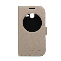 EXCELLENCE FLIP COVER ETERNITY SAMSUNG GALAXY STAR PRO /S7262 - GOLD