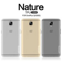 Clear Soft Oneplus Three 3 Nillkin Case Cover Jelly Transparan Casing