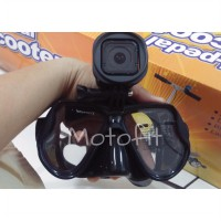Snorkeling Mask With Go Pro Mount|Mask Selam / Diving Dengan Go Pro / Camera Mount|Diving Mask gopro