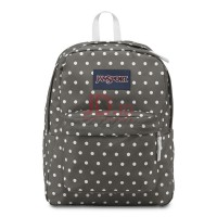 JANSPORT Superbreak - Shady Grey/White Dots