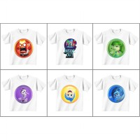 Inside Out Printed T-Shirt for Kids