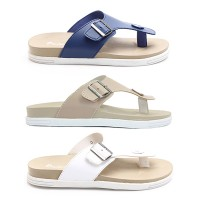 Dr.Kevin Men Sandals 17195 - 3 Colors [ Mocca,White,Blue ]