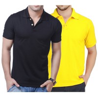 Kaos Kerah Polos Pria / Basic Polo Shirt Mens / Tshirt Pendek Premium Quality 100% Cotton Pique