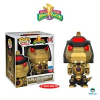 Funko POP! Power Rangers - Black & Gold Dragonzord (Toy Tokyo Sticker)