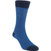 Kaos Kaki Marel Socks Life Style Men Zed 3D Plain MC1P-16-MS054 Navy/Black