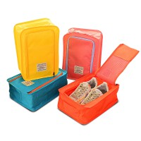 Korea Colorful shoes pouch travel ver 3 / tas sendal sepatu / bag organizer