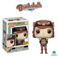 Funko POP! Heroes DC Comics Bombshells - Hawkgirl (Sepia) (Stickered)