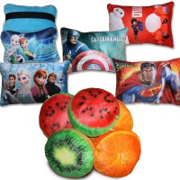Bantal Buah (Cushion) - Bantal Pizza, Bantal Sushi, Bantal leher, Bantal Snack, Bantal Donut