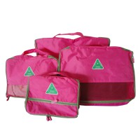 Bags In Bag Organizer 4 In 1 Set Tas Travel - Peach