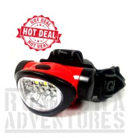 SENTER KEPALA HEADLAMP MINI 4 LED + 3 SMD 603 OUTDOOR SURVIVAL