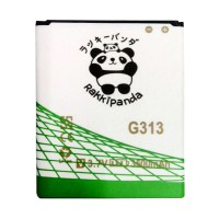 BATTERY BATERAI DOUBLE POWER DOUBLE IC RAKKIPANDA SAMSUNG G313 GALAXY V/ ACE 3 S7270 3500mAh