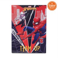 Spider-Man Coloring Book L  (Team Up)