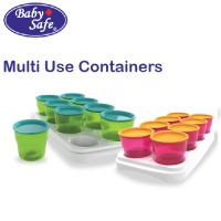 Baby Safe Multi Use Containers AP011 baby cubes tempat makanan bayi