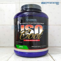 Ultimate Nutrition Iso Cool 5 Lbs Juice Apple / 5lbs isocool isolate lb protein suplemen susu whey
