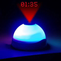Star Night Light Magic Projection Alarm Table Clock - Jam Meja