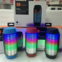 Speaker Bluetooth Pulse with lampu LED and Super Bass