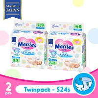 Merries Baby Diapers S 24S Twinpack