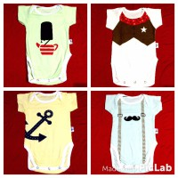 Jumper Bayi Kazel Bodysuit 4in1