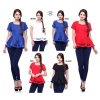 New Collection / Mila Organdy Peplum / Avail 5 Colours / High Quality!!