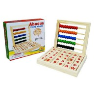 Wooden Abacus Study Blocks