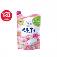 COW STYLE MILKY BODY SOAP (FLORAL) REFILL 400 mL