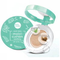 Cathy Doll Aloe Snail Moist Cushion SPF 50 PA +++ # 21 True Bright