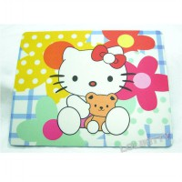 Mouse Pad Hello Kitty Putih / mousepad Hello Kitty - MPHK 10
