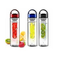 Tritan Infused Water Bottle With Fruit Infuser BPA - DIET BOTTLE