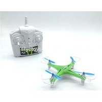 NEW Super Pocket Drone 4Ch 2.4G 6 Axis Quadrocopter With LED 008-F6