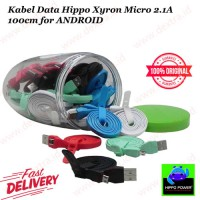 Kabel Data Hippo Xyron Micro 2.1A 100cm For ANDROID