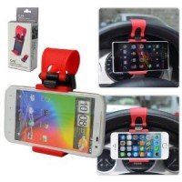 horizontal Stand car phone holder setir steering wheel