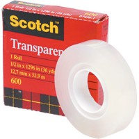 3M 600 Magic Scotch Tape (isolasi) 1/2