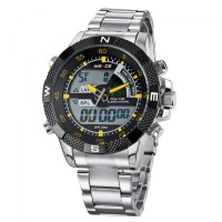 [Weide Japan Quartz Men] Jam tangan pria LED