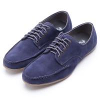 Dr.Kevin Suede Shoes 2Models: 13193 Blue, Casual shoes 13211 Brown