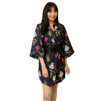 Traditional Japanese Kimono 2 in 1 jubah tidur 1359BKIM by Folva