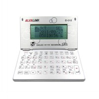 Alfalink Electronic Dictionary EI-312 Silver