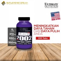 Ultimate Nutrition Amino 2002 - 100 Tabs