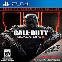 PS4 Call Of Duty Black Ops III Zombie Chronicles Edition (Reg 1)