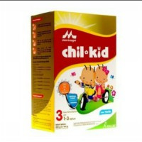 Chil kid chilkid regular 3 vanilla dan madu 800 gr