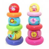 Fisher Price Rainbow Stacked Ball