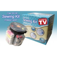 Deluxe sewing kit 210pcs sew box alat perlengkapan jahit set jarum SJ0012