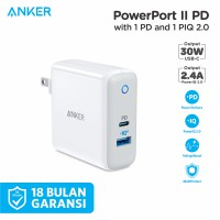 Wall Charger Anker PowerPort II with Power Delivery White - A2321