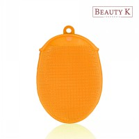 BeautyK Eco Silicone Beauty & Body Shower Towel Orange