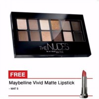 Maybelline The Nudes Eyeshadow Palette Promo