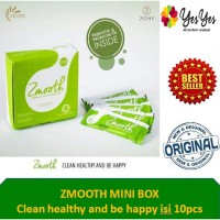 Zmooth Detoks Usus & diet sehat Mini Box ( isi 10pcs)