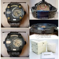 Jam Tangan Pria Diesel The Daddies Dz-7364 Automatic Stainless Steel
