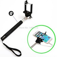 New Tongsis Cable Take Phone / Monopod With Button + Cable / Tongsis Terbaru