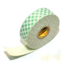 3M 4032 Mounting Tape / Double Coated Foam Tape, tebal 0.8 mm, size: 18 mm x 4,5 m
